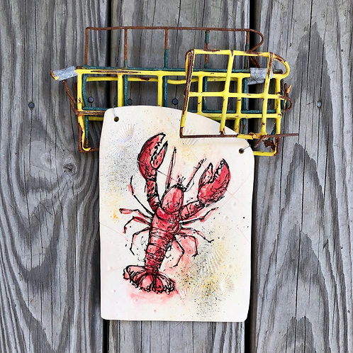 Lobster Trap #1 - Wall Hanging