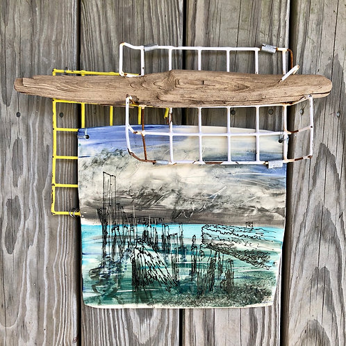 Provincetown Piling #1 - Wall Hanging