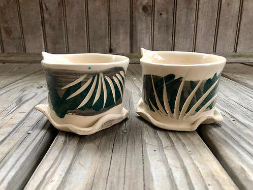 Flared Cup Pair