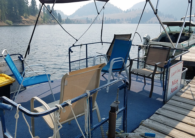 Large Pontoons - Seat 10 $150 a Day