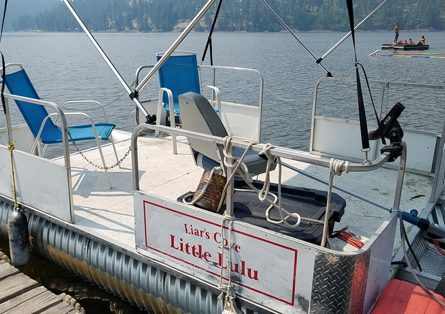 Small Pontoons - Seat 4 $125 a Day