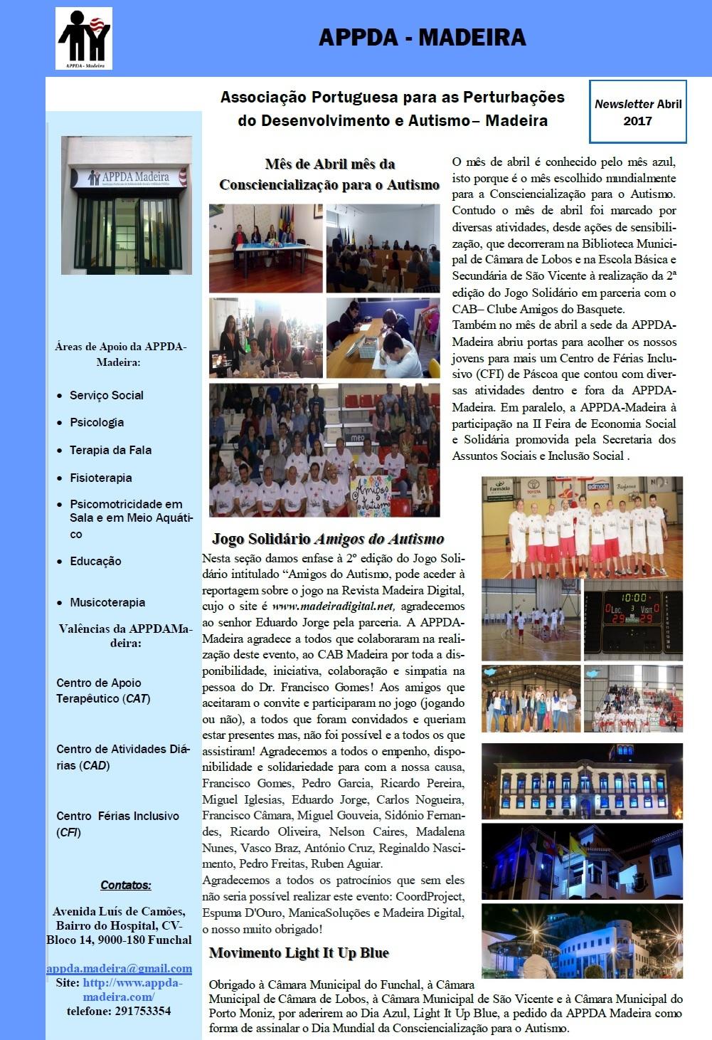 Newsletter Abril 2017