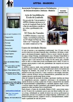 Newsletter Novembro 2017
