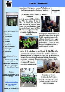 Newsletter Maio 2017