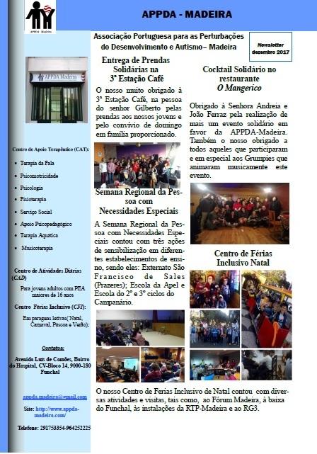Newsletter Dezembro 2017