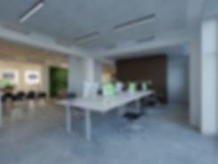 Kontorindretning flex arbejdspladser