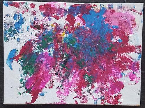 """Finger Print Burst (8"""" x 10"""")"""