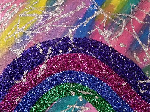 8x10 METALLICA rainbow