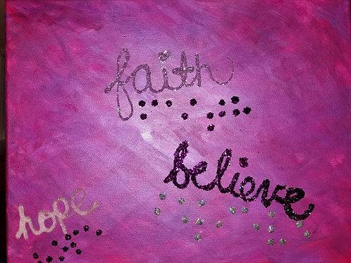 words in braille