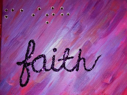 Faith in Braille
