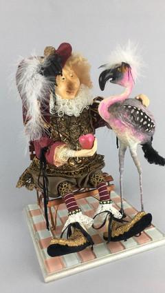 Сэр Ньютон и его фламинго