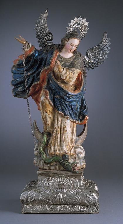 Virgin of Quito, Spanish colonial art, circa 1750