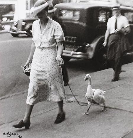 Ruth Jacobi – Prominade, Ney York 1928 - © Jewish Museum Berlin