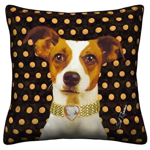 Jack Russell Dog Pillow