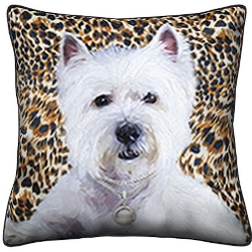 Westie Dog Pillow