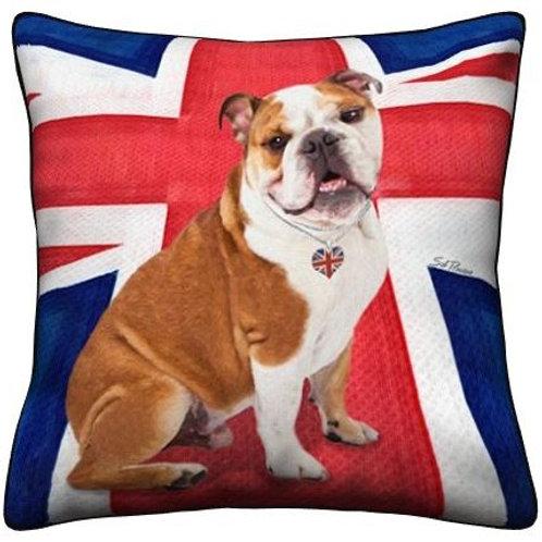 Bulldog Dog Pillow