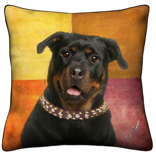 Rottweiler Dog Pillow