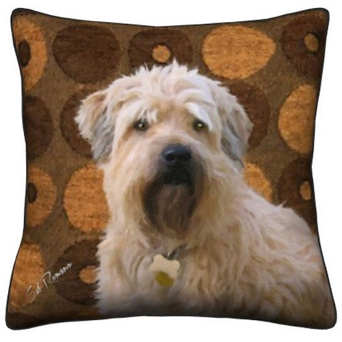 Wheaton Terrier Pillow