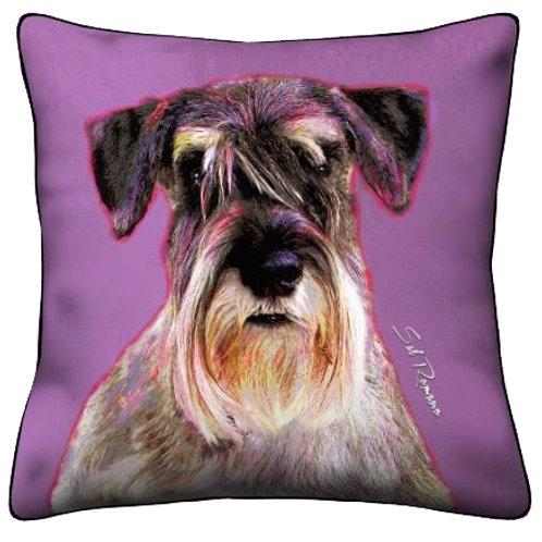 Schnauzer Terrier Pillow