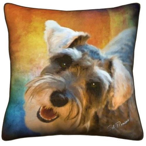 Schnauzer Dog Pillow