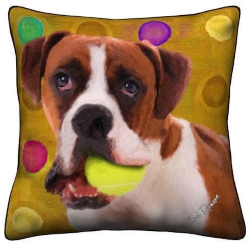 Boxer Dog Pillow