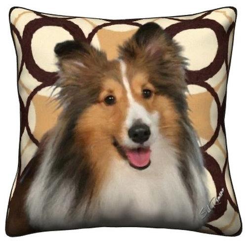 Shetland Sheep Dog Pillow