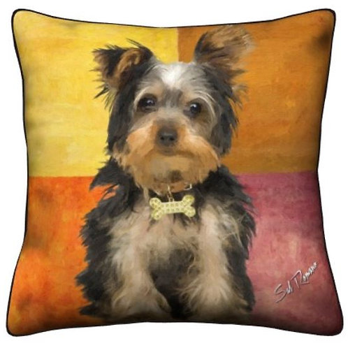 Yorkie Dog Pillow