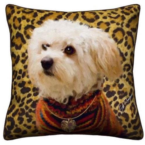 Maltipoo Pillow