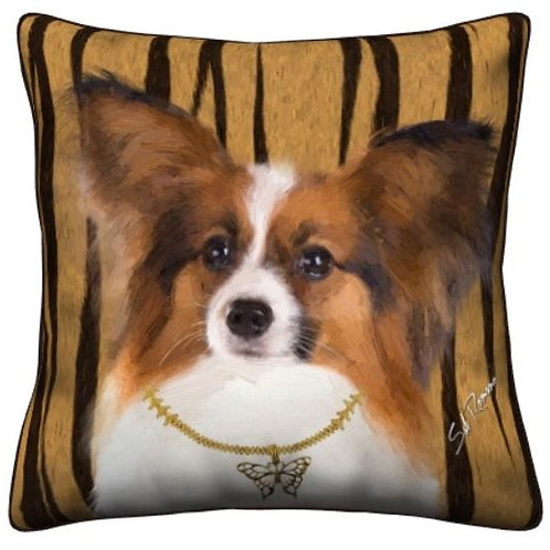 Papillion Dog Pillow