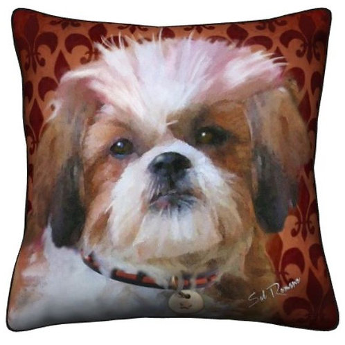 Shih Tzu Dog Pillow