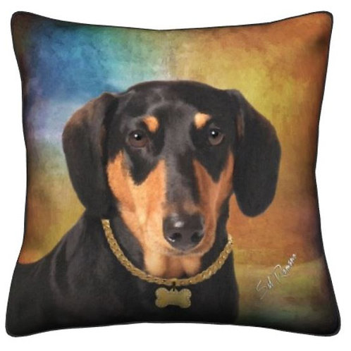 Doxie Dog Pillow