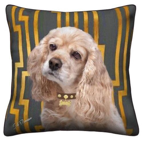 Cocker Spaniel Pillow