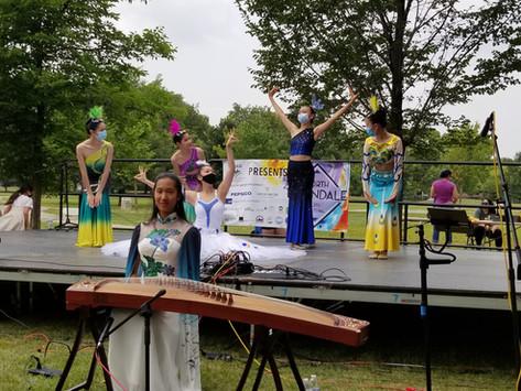 YinHe Dance Partnership Performance