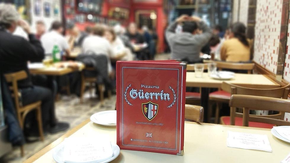 Carta Menú - Guerrin