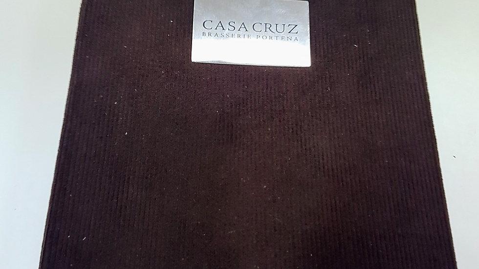Carta Menú - Casa Cruz