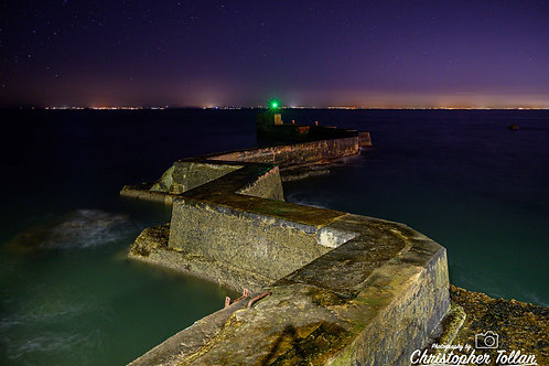 Photo Print - St Monans Pier at Night
