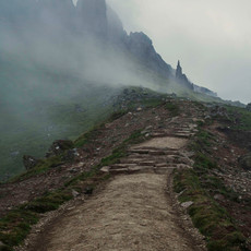 Misty Stairway to the Skye!