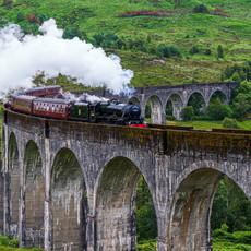 Steaming Through Glenfinnan
