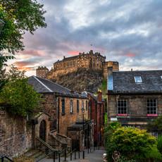 Classic Edinburgh Castle