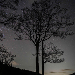 Loch Lubnaig at Night