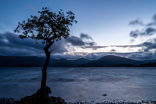 Photo Print - Blue Milarrochy Bay (Loch Lomond)