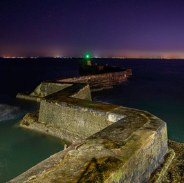 St. Monans Pier in the Night
