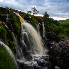 Flowing Falls of Fintry