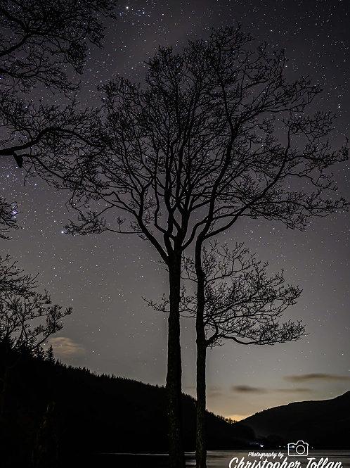 Photo Print - Loch Lubnaig in the Dark