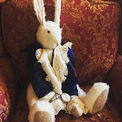 Mr white rabbit 🐇 is now held together