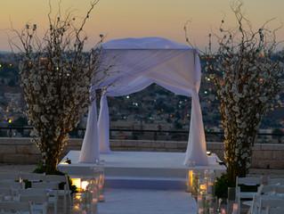 THE TOP TEN WEDDING HALLS IN JERUSALEM