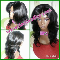 Another client taking advantage of our $99 #Customwig sale!  This is a #Laceclosurewig created for a