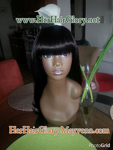 Full Wig w/Bangs Wig Making Service