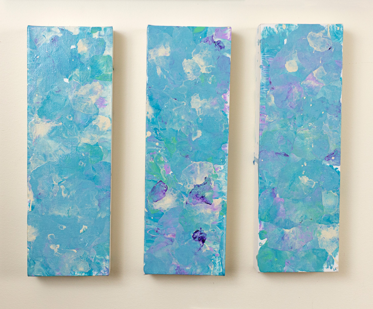 "untitled triptych 10""x10"""