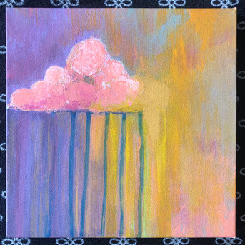 """Through the Storm 10""""x10"""" [SOLD]"""